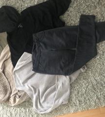 Lot -5 pulovera /tunika + tajice S