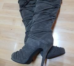 Čizme do koljena,40