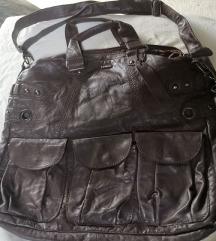 X nation smeđa ogromna torba
