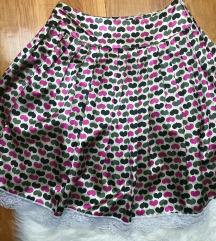 UNIKAT satinirana plisirana suknja 💗NOVO🖤 36