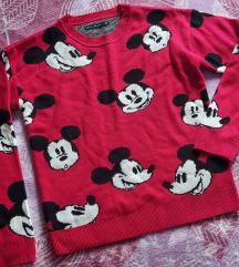 Mickey nova zimska majica💕