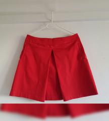 Orsay crvena suknja, kao nova