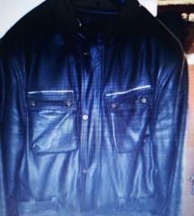 Kožna motoristička jakna