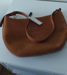 NOVA MANGO torba od brušene kože