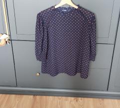 Nova Zara bluza s narančastim točkicama
