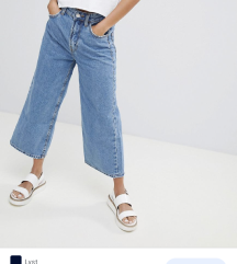 Bershka culotte jeans