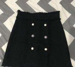 Zara suknja od žakarda