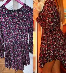 Nova cvijetna asimetrična H&M haljina