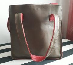 Kožna torba  💜 / UNIKAT/POŠT.FREE