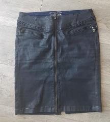 Nova Esprit leather efekt suknja/ PT uključena