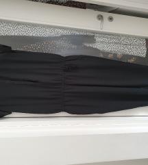 Crni elegantni kombinezon