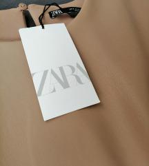 Zara 'kožna' haljina  / L