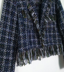 % Bershka tweed jaknica