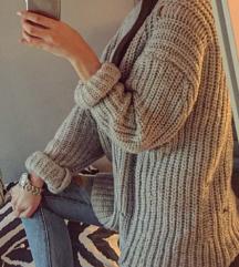Mango pulover oversize S-M