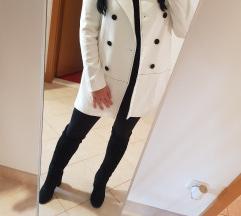 Zara bijeli kaput/sako