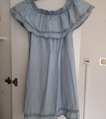 Plava ljetna haljina 36