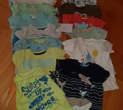 Lot ljetnih majica za dječake