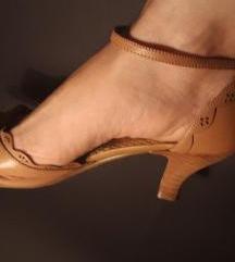 Sandale kožne bež