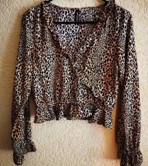 H&M crop top bluza novo