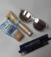 Lot kozmetike i naočale