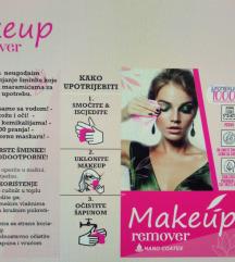 Make-up antibakterijske skidanje šminke vodom