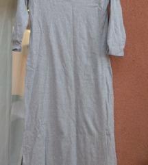 Siva haljina s-m