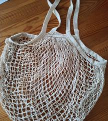 Nova pamucna  torba za plazu
