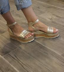 Inuovo zlatne sandale