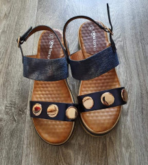Plave sandale-novo