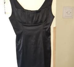 Midi crna haljina / M