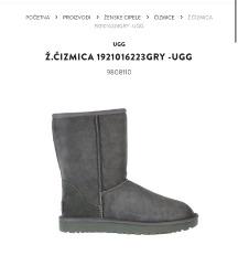 Ugg sive čizme  AKCIJA 800 !!