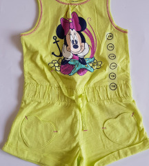 NOVO Disney  Minnie Mouse vel. 116