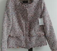 Sako blejzer jakna od tvida s etiketom