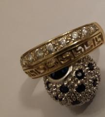 Prsten zlato 585...18 mm