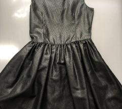 H&M svečana srebrna haljina