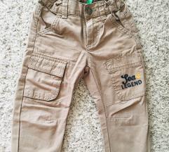 Benetton dječje cargo hlače vel 2god 90cm