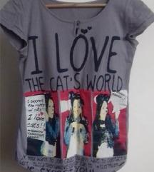 Majica sa printom S/M