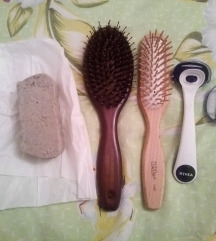 Četke, sapun i britvica