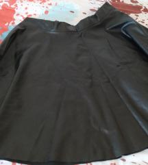 Suknja od umjetne kože