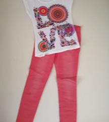 Proljetne traperice +majica