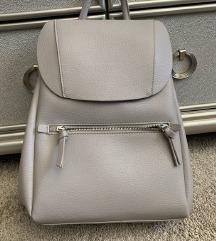 Zara sivi ruksak