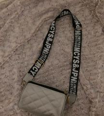 Ženska srebrna torbica