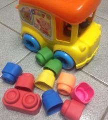 kamion s gumenim kockicama