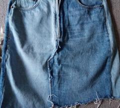 Zara traper suknja struk 37cm