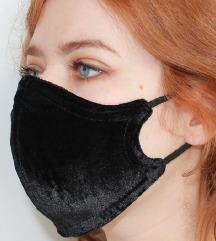 Maska za lice od svilenkastog pliša