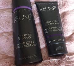 KEUNE silver šampon+regenerator