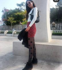 Zara šarena mini suknja