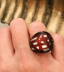 Prsten murano NOVO