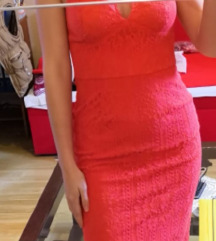 Asos crvena haljina s pt