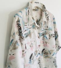 Predivna vintage šarena bluza jaknica vel M-L